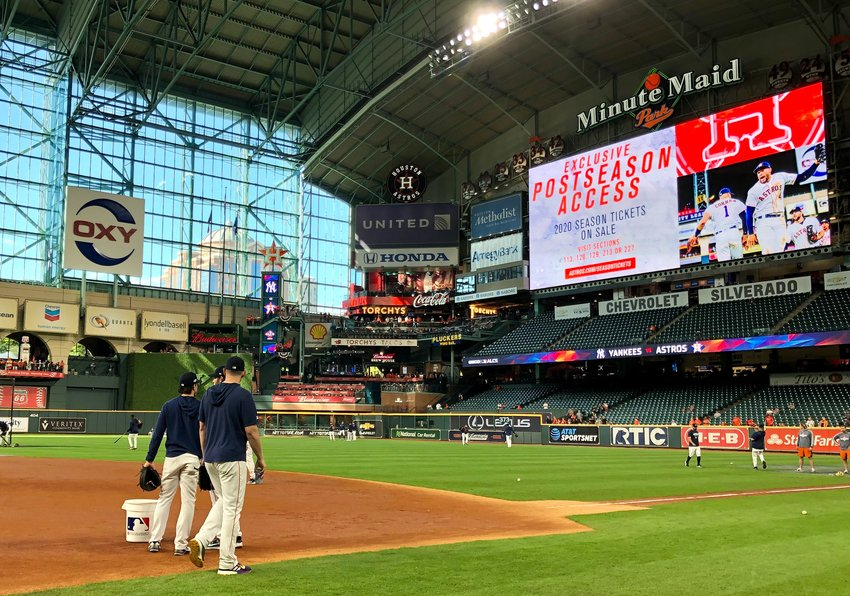 Players could soon be back at Minute Maid Park after MLB and the players union agreed to a 60-game season with prorated pay that will start around July 24.
