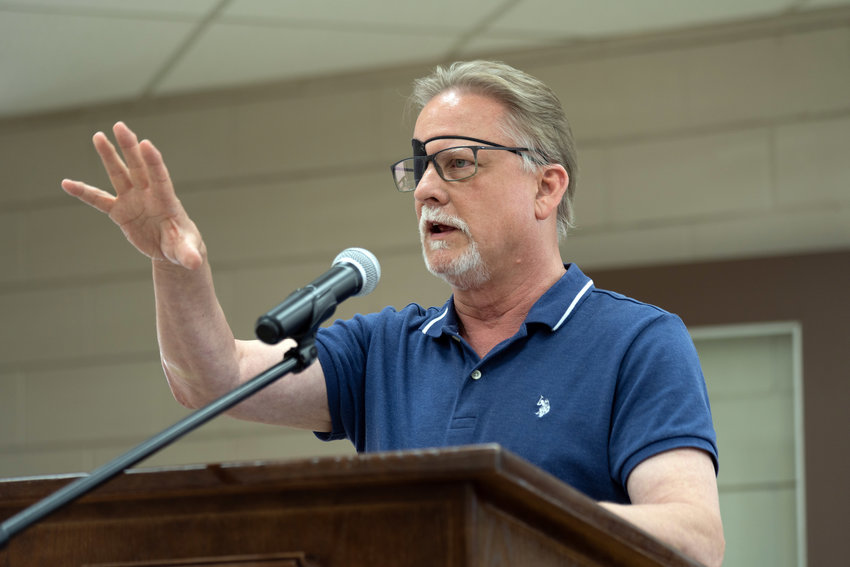 Wyn McCready praised the work of the Sealy Economic development Corporation and said critics of the corporation's spending face jeopardizing the well-being of Sealy residents. McCready won reappointment to the board of directors and said increasing development and growth is key to the EDC's mission.