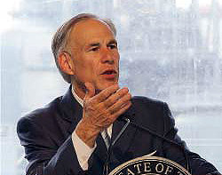 Gov. Greg Abbott issued a statewide mask order on Thursday.