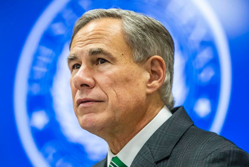 Texas Gov. Greg Abbott visited Victoria and Beaumont on Tuesday to meet with local officials and provide an update on the state's coronavirus response.