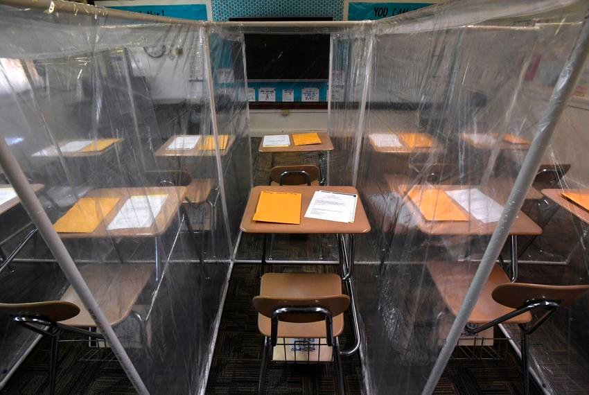 As the first Texas schools begin to open classrooms, Texas is requiring districts to report coronavirus cases to the state.