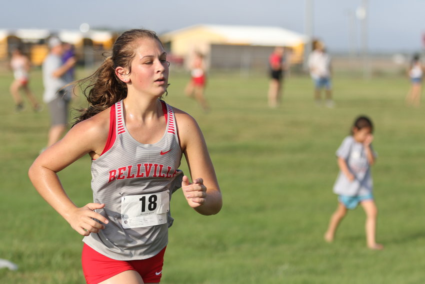 The Bellville girls' cross country team returns a plethora of key contributors from last year's deep postseason run and will look to take things in stride through the uncertainty of the upcoming season.