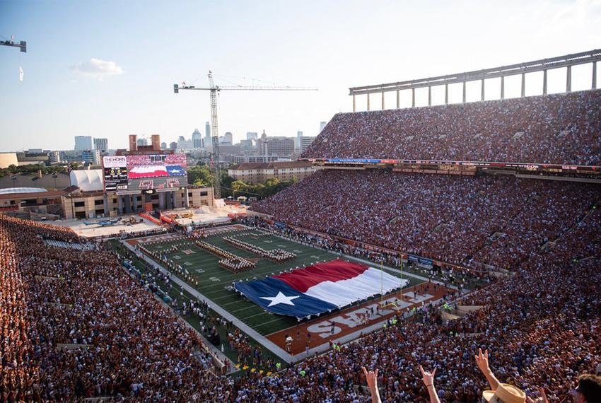 """UT-Austin students who purchase """"The Big Ticket"""" must take a COVID-19 test on Friday and test negative before they can attend Saturday's football season opener against the University of Texas at El Paso."""