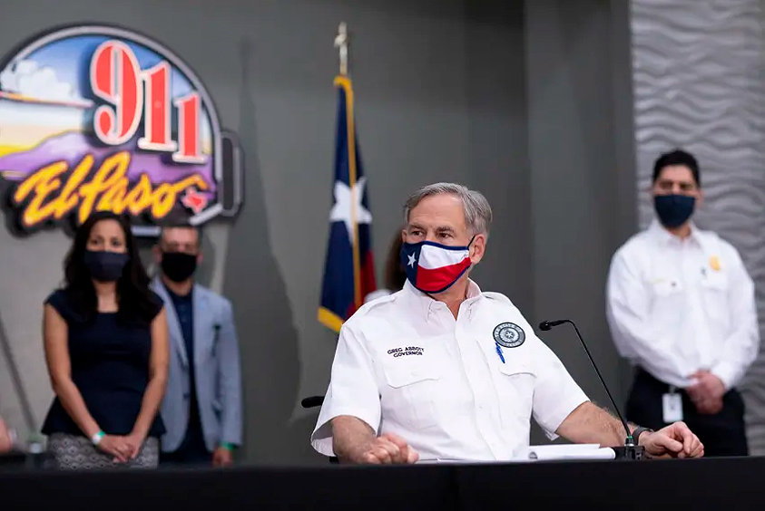 Restaurants, retail stores and office buildings in most regions of the state will now be able to operate at 75% capacity, Gov. Greg Abbott said on Sept. 17.