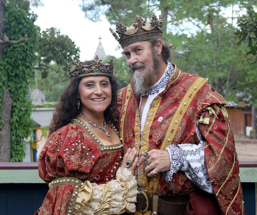 The King and Queen of the Texas Renaissance Festival have announced that guests will be required to wear face coverings this season. Also, free COVID-19 testing will be offered at the festival this year.