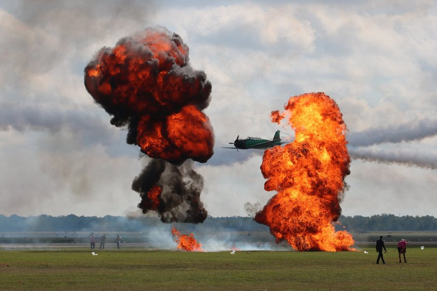 The Pearl Harbor re-enactment called Tora! Tora! Tora! will return to the Wings Over Houston Airshow this year.