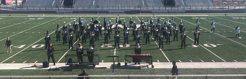 The Sealy High School marching band earned the highest score possible at last Tuesday's UIL Regional marching contest at Waller High School. It was the first time since 2004 the band earned straight 1's and the Tiger band was also honored with a sweepstakes trophy.