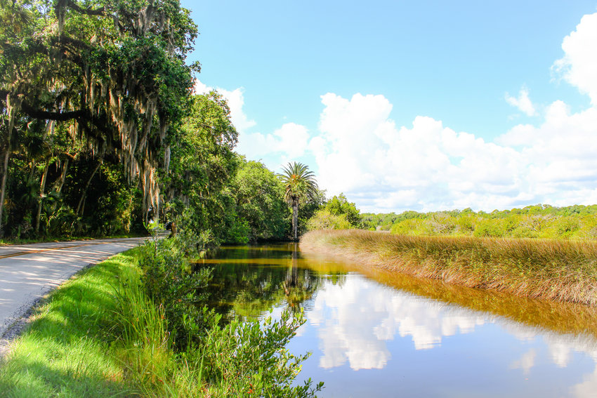 Part of the scenic Loop in Volusia County