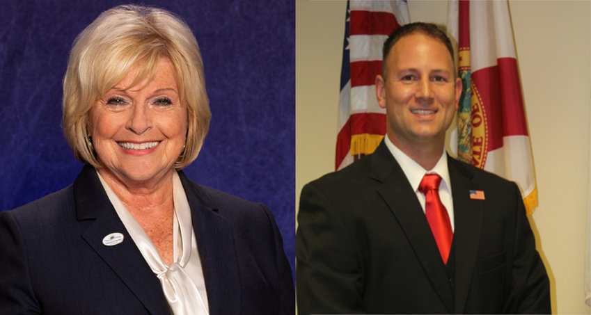 Volusia County Councilmember Billie Wheeler & Port Orange Councilmember Chase Tramont
