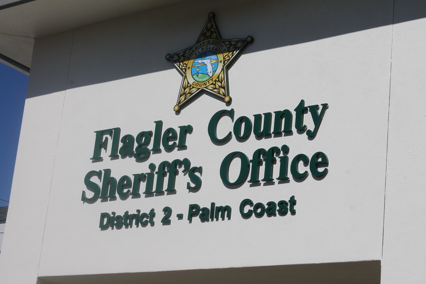 The outside of FCSO's brand new district office in Palm Coast