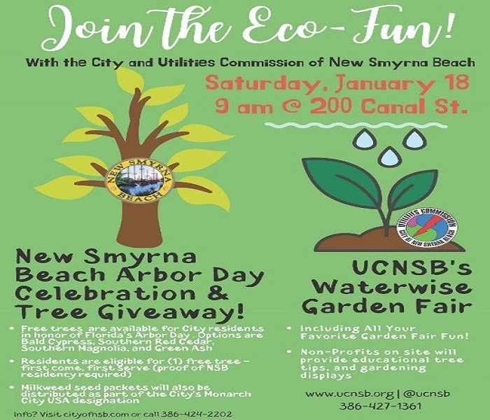 Arbor Oaks Florida: NSB Celebrates Florida Arbor Day By Giving Away Trees