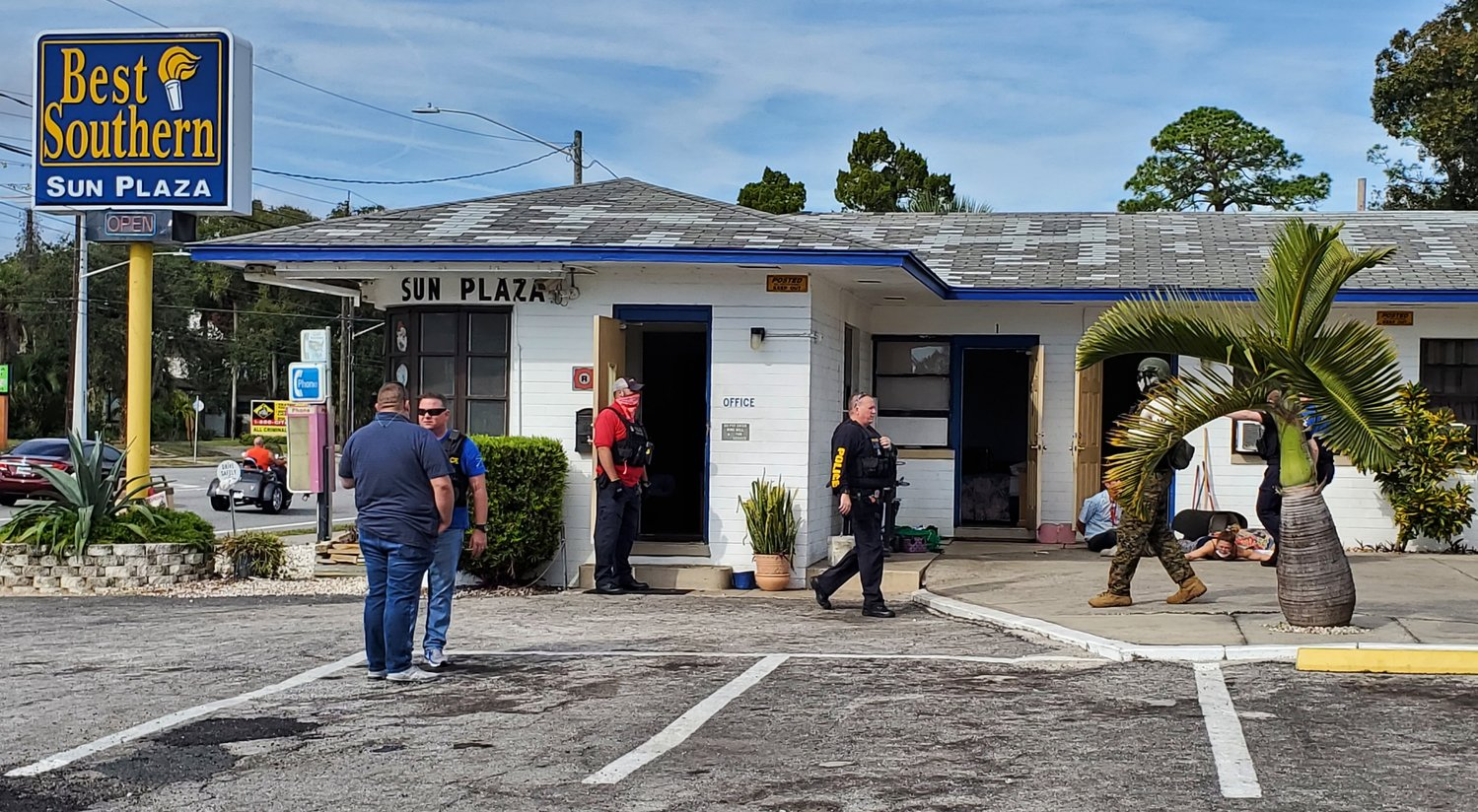 "On Sunday, December 13th, members of the Daytona Beach Police Department raided the Best Southern Sun Plaza motel—a motel police say has become ""a haven for drug dealers and users."""