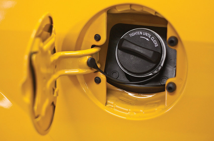 A loose gas cap can adversely affect fuel economy.