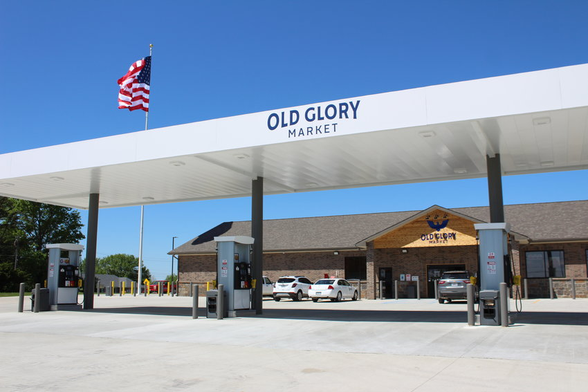 Old Glory Market, located at 168 SW Business 13 Highway, Warrensburg, is planning to have a soft opening around May 10 or 11.