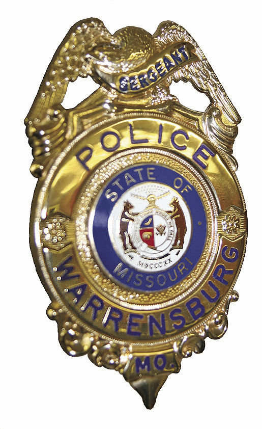 Warrensburg Police Department Badge