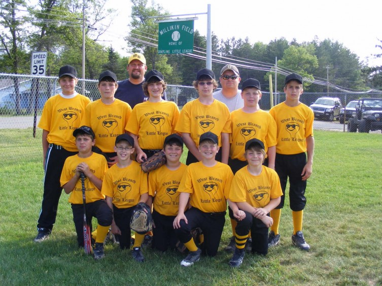 WBLL baseball 11 & 12 year old travel team