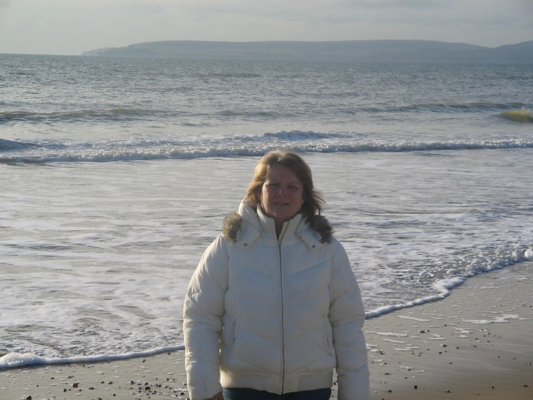 """ Brenda at Bournemouth Beach England"