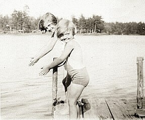 Summers on Mack Lake in the 30's!