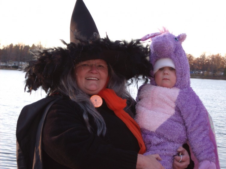 April Harkey Mason and Granddaughter Katie