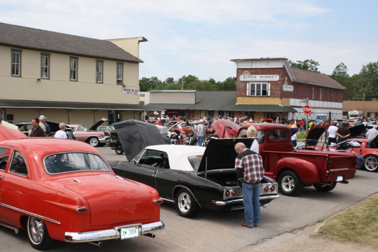 A wide variety of classic cars were on display in downtown Lewiston for the auto show.