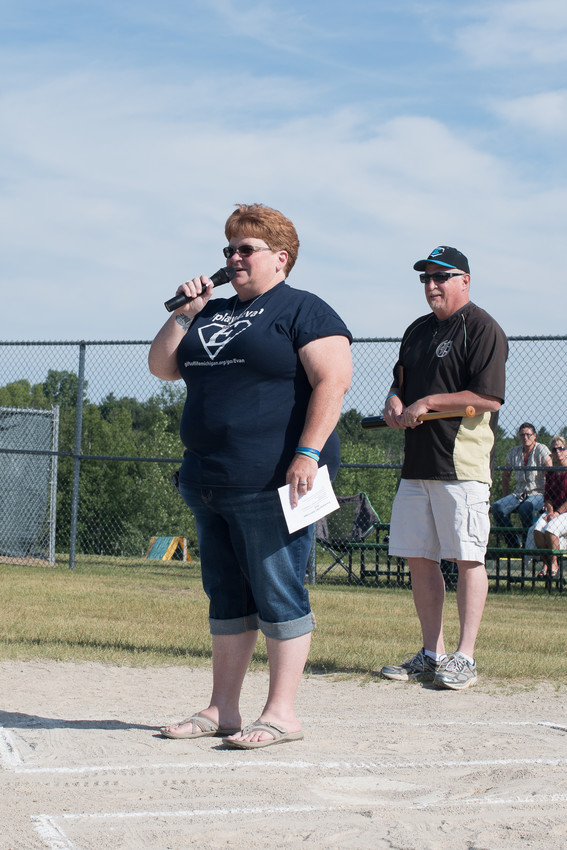 Lydia Kimball, mother of Evan Kimball, explains what the award is and how the winner is chosen.