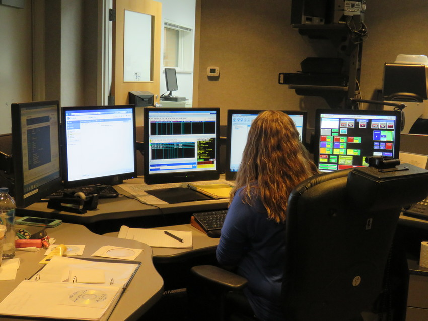 Arenac County Central Dispatch is staffed 24 hours a day, seven days a week and receives and dispatches emergency calls for police, fire and ambulance services through the center.