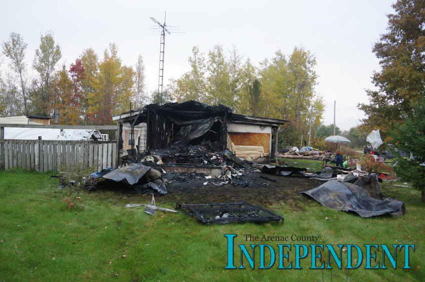 An Au Gres man lost his life in a fatal house fire Oct. 25.