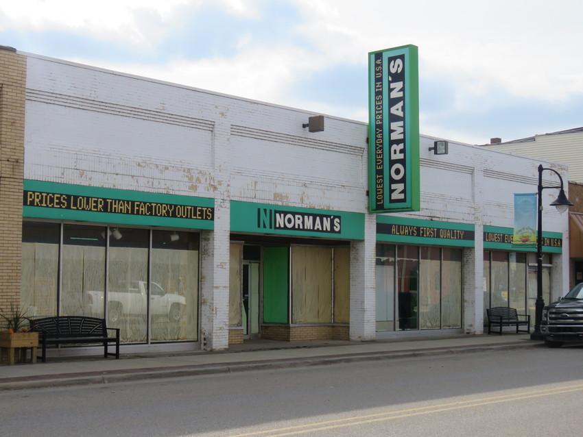The former Norman's building will see its first signs of life since closing in 2014.