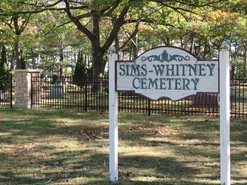 Whitney and Sims townships have been equal partners in the management of the Sims-Whitney Cemetery