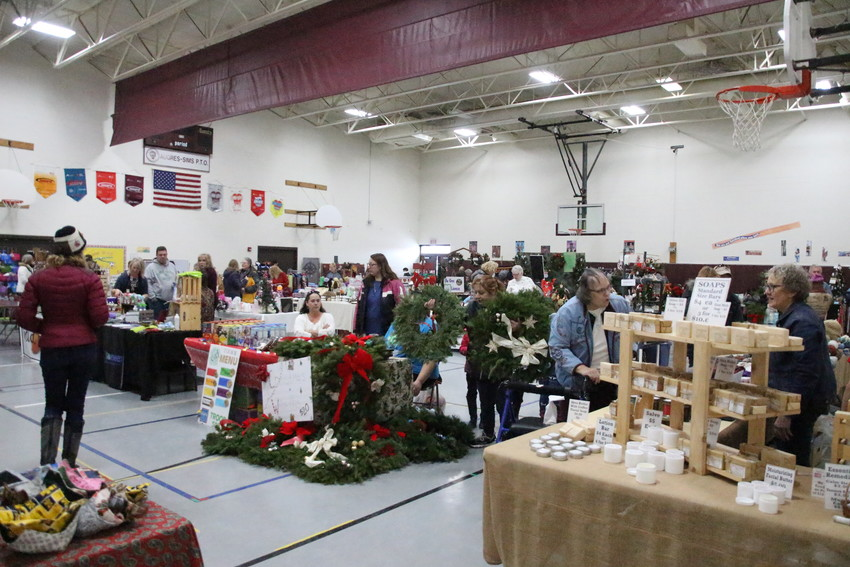 Au GRES — The Au Gres-Sims PTO Holiday Bazaar and Craft Show came back for its fourth year at the Au Gres-Sims multi-purpose room Saturday, Dec. 8, from 9 a.m. to 3 p.m.