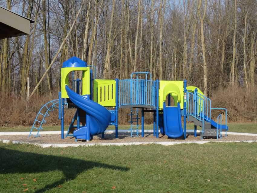 The city of Standish received $25,000 to make improvements to the park pictured.