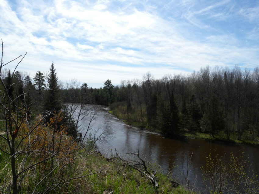 A section of the Au Sable River that would have had alcohol banned if the closure order had not been rescinded.