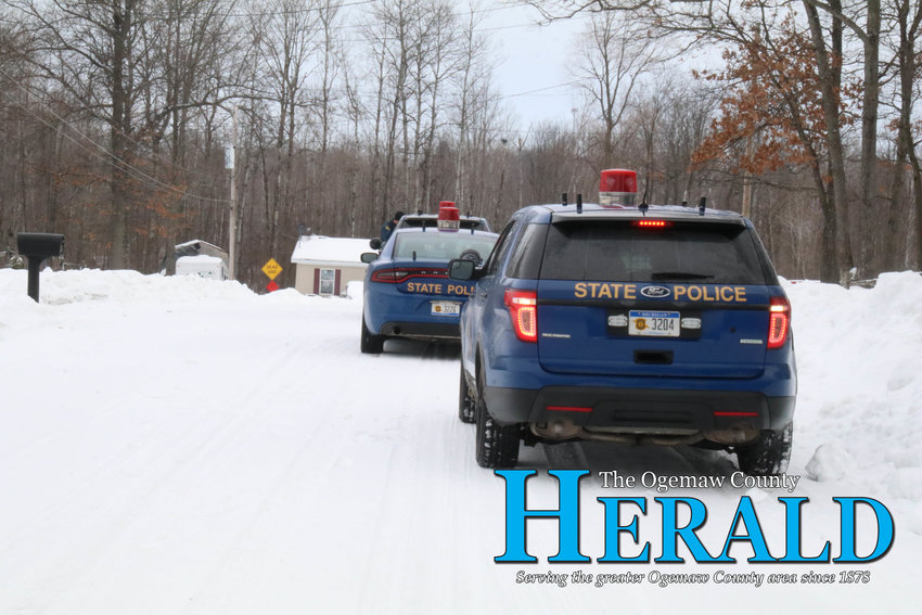 The Michigan State Police and Ogemaw County Sheriff's Office responded to a call for a reported stabbing Feb. 20.