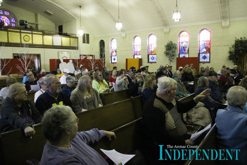 There was a large turnout for the annual Auction for the Arts Saturday, April 13.