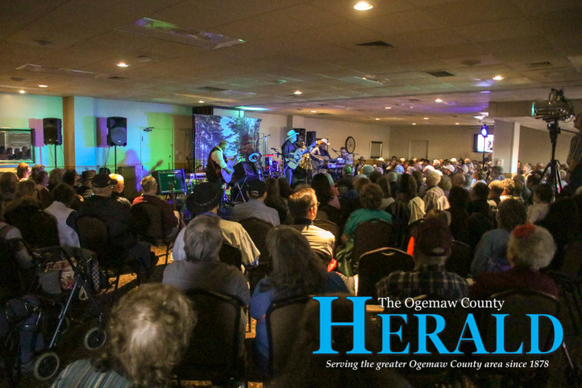Hundreds of people watch the Michigan Country Music Hall of Fame's Spring Into Country show April 20.