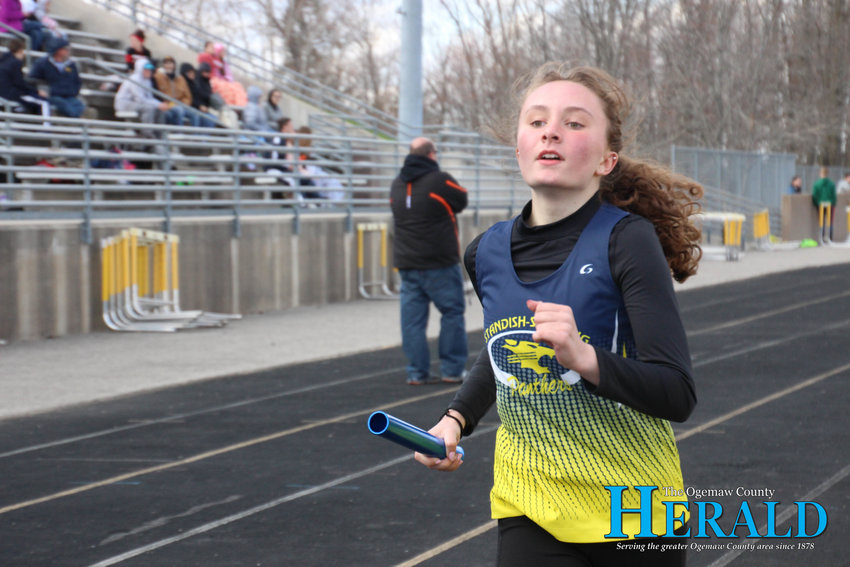 SSC's Bryn Reeves stays strong during the invite.