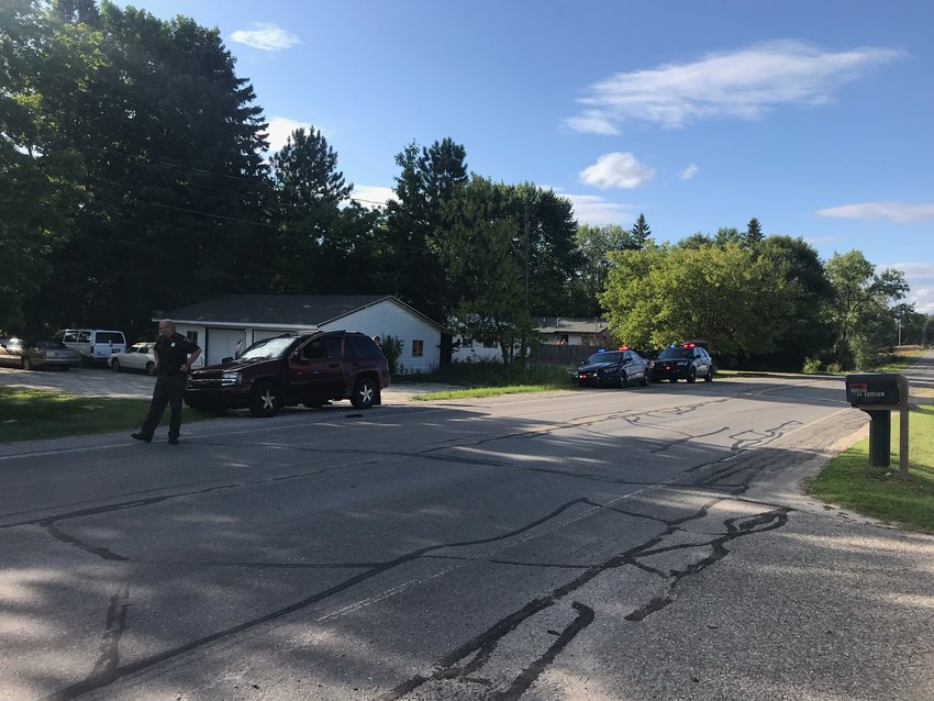 Police are investigating a reported shooting in West Branch Township that sent one man to the hospital with life threatening injuries. Police say they have a suspect in custody.