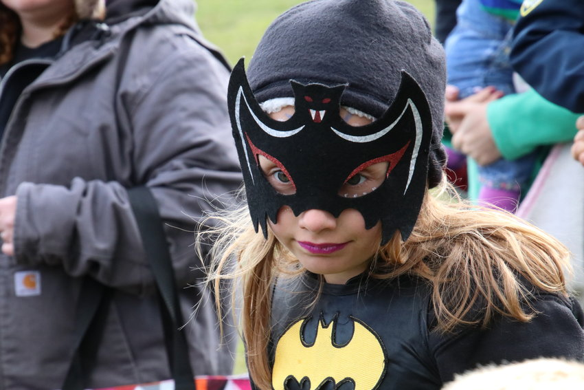 Kourtney Gillette, 6, of West Branch is Batwoman.
