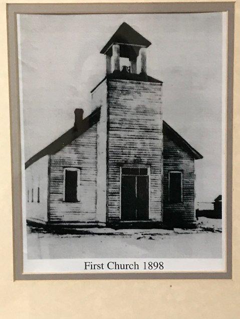 The original church built in 1898.