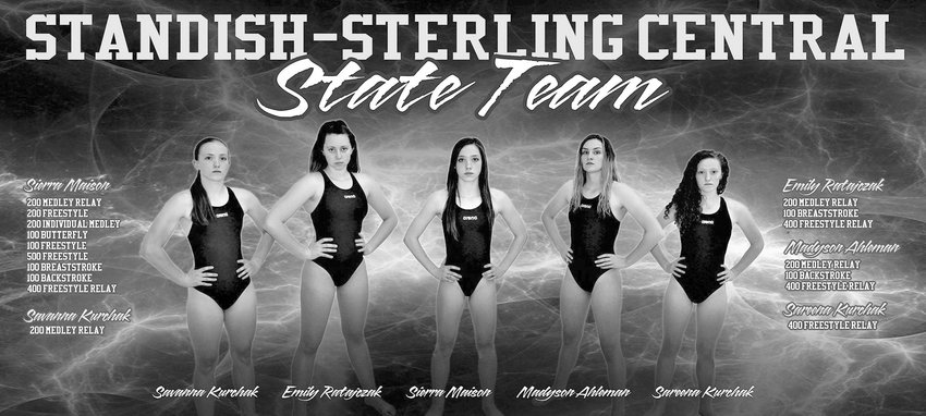 Standish-Sterling swim team competes at State Finals