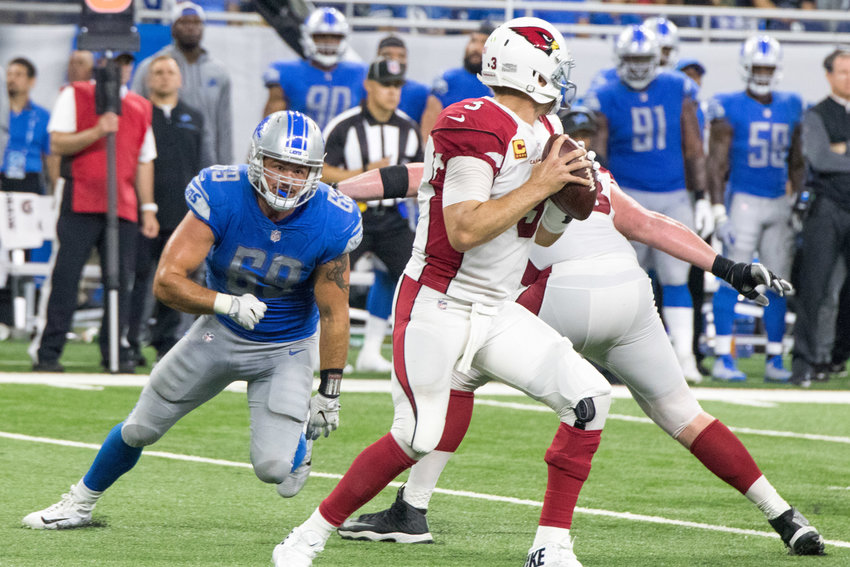 Anthony Zettel racked up 6.5 sacks during his time with the Detroit Lions.