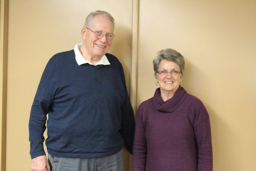 Joe and Clara Clark say they are both proud and grateful to have been members of the West Branch community for so many years.