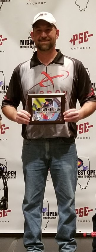 Tom O'Dell won first place at the Midwest Open tournament in Illinois.
