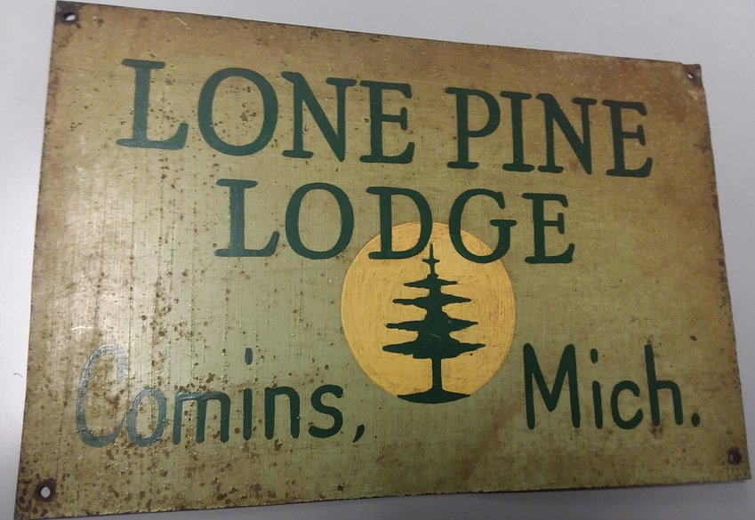 Patrick Wood plans on returning the Lone Pine Lodge sign to the current owner of the property.