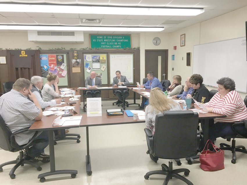 The WB-RC strategic plan was the topic of discussion at a public meeting at Ogemaw Heights High School Monday, Feb. 3.