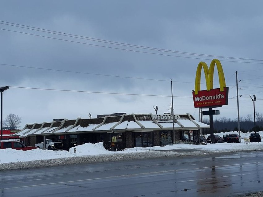 The current McDonald's in Standish.