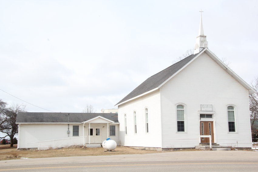 The Saganing Community Church.