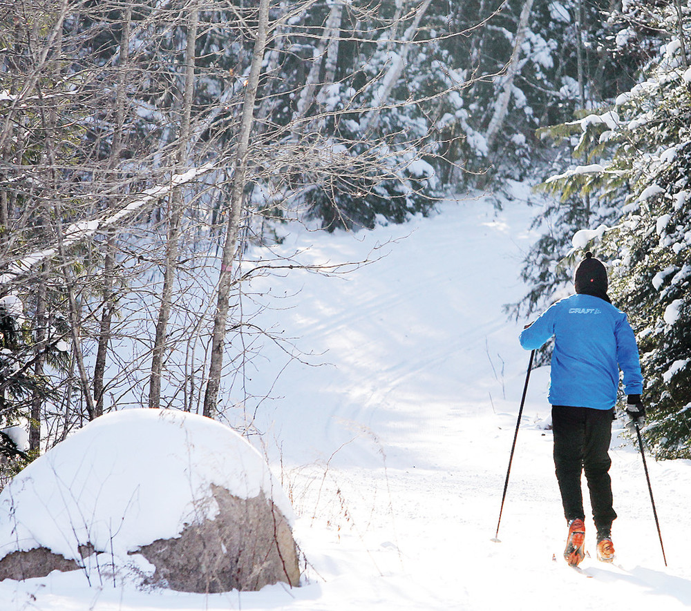 Hidden Valley Recreation Area, located just outside of Ely, is one of the premier ski facilities in the Midwest.