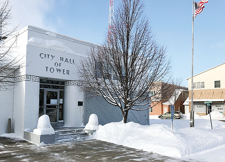 The future of the Tower City Hall was a subject of debate during this week's city council meeting.