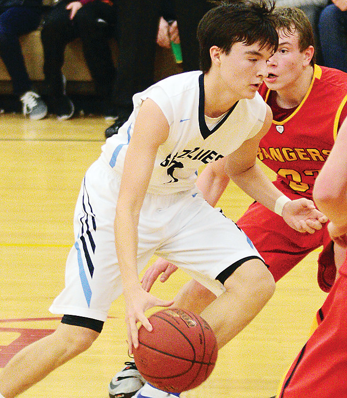 Point guard Cade Goggleye has helped steer North Woods to a 13-0 start to the season, averaging 19.3 points per game.